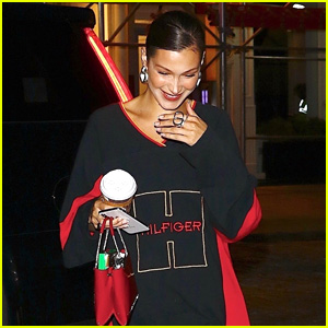 Bella Hadid Is All Smiles in NYC After Trip to Tokyo With The Weeknd!