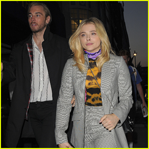 Chloe Moretz Hangs Out with Older Brother Trevor in London!