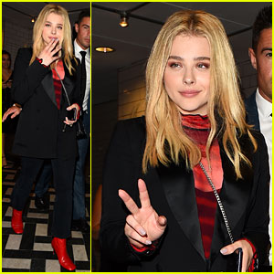 Chloe Moretz Enjoys Night Out After 'Miseducation of Cameron Post' Promo!