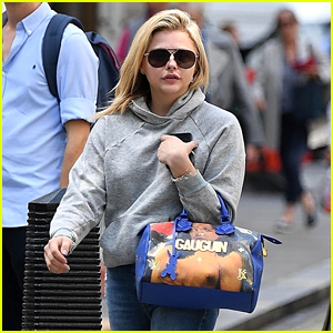 Chloe Moretz Heads Out for a Shopping Trip in England!
