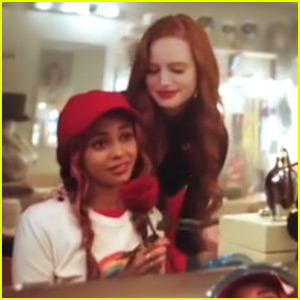 Cheryl Supports Toni Backstage at 'Carrie' Musical in Cute Deleted Scene From 'Riverdale' - Watch!