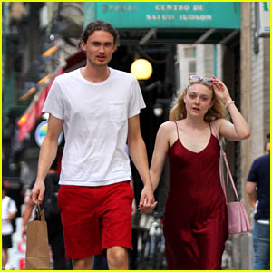 Dakota Fanning & BF Henry Frye Head Out on a Romantic Dinner Date in NYC!