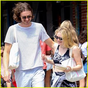 Dakota Fanning & Henry Frye Couple Up for Lunch Date!