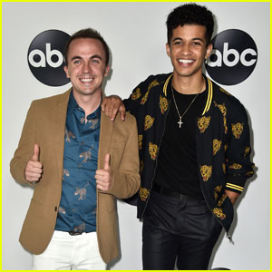 Jordan Fisher & Frankie Muniz Support 'Dancing with the Stars: Juniors' at TCA Press Tour