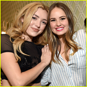 Peyton List & Debby Ryan Write Each Other Messages of Support For Their New Projects