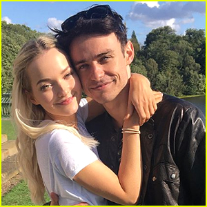 Dove Cameron & Thomas Doherty Share Adorable Pics From 'Two Wolves' Set