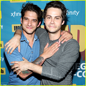 Dylan O'Brien & Tyler Posey Are Still Besties & Even Went To Comic-Con Together