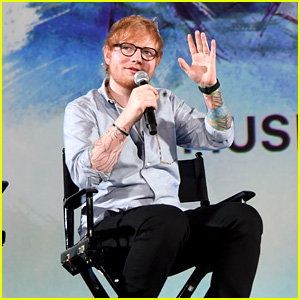 Ed Sheeran Is All Smiles at 'Songwriter' Premiere in LA!