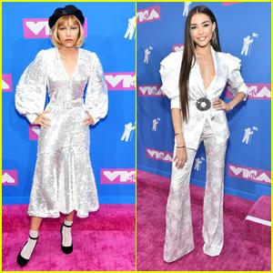 Grace VanderWaal & Madison Beer Shimmer & Shine on MTV VMAs 2018 Red Carpet