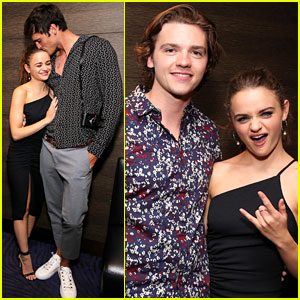 Joey King, Jacob Elordi, & Joel Courtney Just Had a 'Kissing Booth' Reunion!