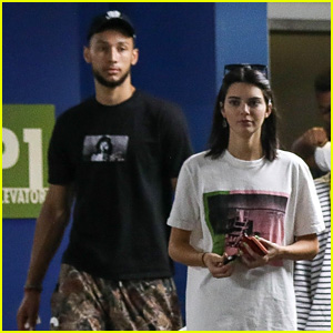 Kendall Jenner Goes Shopping with Boyfriend Ben Simmons
