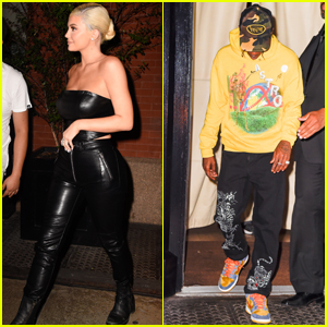 Kylie Jenner & Travis Scott Couple Up for the VMAs After Party!