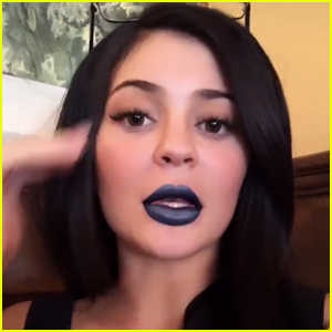 Kylie Jenner Shows Off Her New Lip Kit Instagram Filter With Caitlyn Jenner!