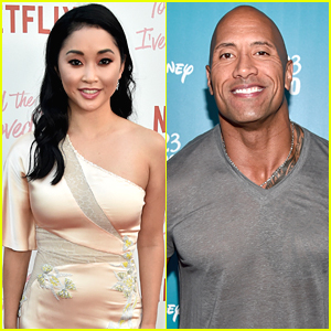 TATBILB's Lana Condor Freaks Out Over The Rock Tweeting Her