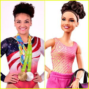 Laurie Hernandez's New Shero Barbie 100% Looks Like Her!