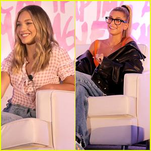 Maddie Ziegler & Hailey Baldwin Encourage Aspiring Models at IMG Fashion Camp