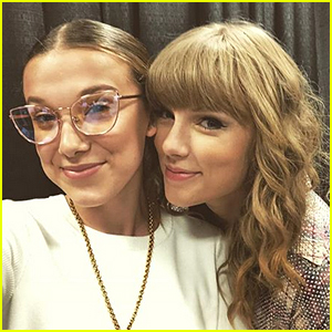 Millie Bobby Brown Snaps Selfie From Taylor Swift's Concert!