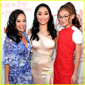 Janel Parrish, Lana Condor, & Anna Cathcart Team Up for 'To All the Boys I've Loved Before' Premiere!