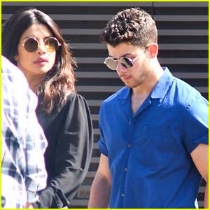 Newly Engaged Nick Jonas & Priyanka Chopra Go Out to Eat Together at Nobu!