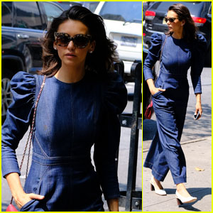 Nina Dobrev Talks About Trying Not to Be Too Dependent On Her Phone