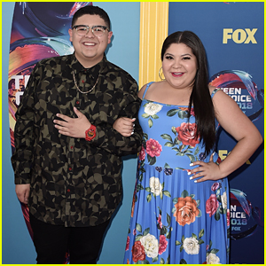 Raini Rodriguez Looks Gorgeous at Teen Choice Awards 2018 with Brother Rico