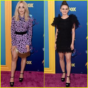 Sabrina Carpenter Joins BFF Joey King at Teen Choice Awards 2018!
