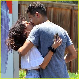 Sarah Hyland's Boyfriend Wells Adams Moves Into Her Home!