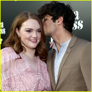 Noah Centineo Was Shannon Purser's First On-Screen Kiss!