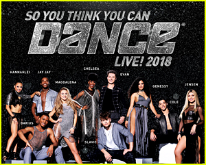 'So You Think You Can Dance' Announces New Live Tour Kicking Off in October