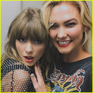 Taylor Swift Gets Support From Karlie Kloss at Nashville Concert!
