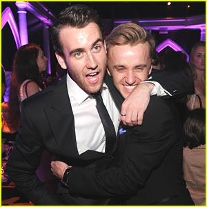 Tom Felton Is Convinced Matthew Lewis Really Wanted to Be in Slytherin in Funny Reunion Pics