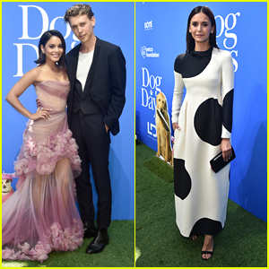 Vanessa Hudgens is Joined by Boyfriend Austin Butler at 'Dog Days' Premiere!