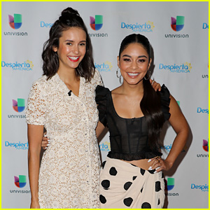 Vanessa Hudgens & Nina Dobrev Take a Trip to Miami for 'Dog Days'