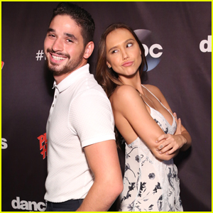Alan Bersten Was Very Excited To Meet DWTS Partner Alexis Ren