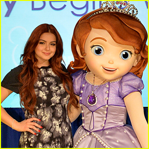 Ariel Winter Says Goodbye To 'Sofia The First'