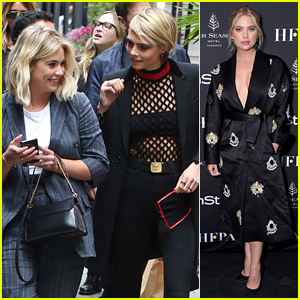 Ashley Benson & Cara Delevingne Have a Movie at TIFF!