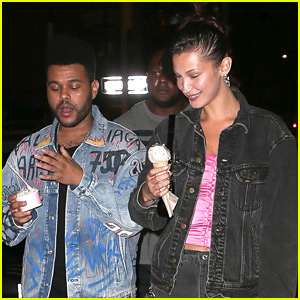 Bella Hadid Goes On an Ice Cream Date with The Weeknd!