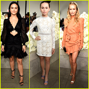 Camila Mendes Steps Out For Zimmermann Fashion Show With Sky Katz