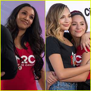 Candice Patton & Maddie Ziegler Join Brenda Song & Tyler Posey at Stand Up 2 Cancer's Digital Live Show