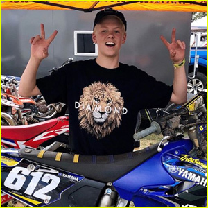 Carson Lueders Gets Hospitalized After Motocross Accident