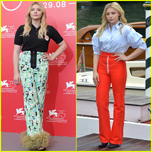 Chloe Moretz Starts the Day at Venice Film Festival in Two Outfits!