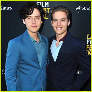 Dylan Sprouse Gets Support from Twin Cole at 'Banana Split' Premiere