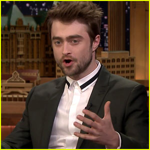 Daniel Radcliffe Looks at 'Harry Potter' Memes on 'Tonight Show' - Watch!