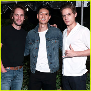 Harry Shum Jr and Dylan Sprouse Celebrate Launch of Madewell's Men's Collection
