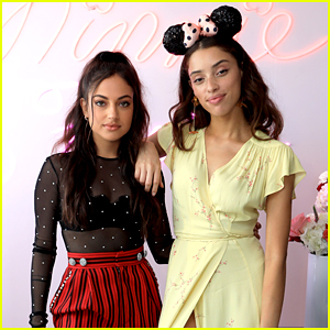 'After' Stars Inanna Sarkis & Khadijha Red Thunder Celebrate Minnie Mouse's 90th Anniversary!