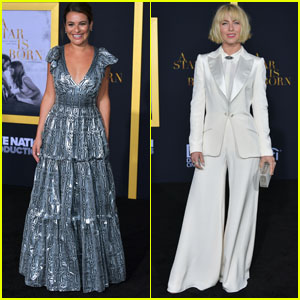 Lea Michele & Julianne Hough Hit the Red Carpet at 'A Star Is Born' LA Premiere!