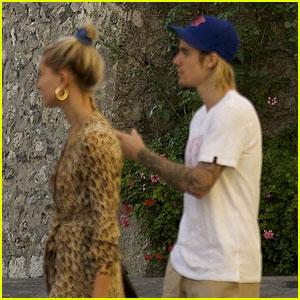 Justin Bieber & Hailey Baldwin Enjoy Romantic Italian Getaway