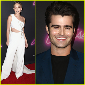 Spencer Boldman Gets Support From Kelli Berglund at 'Cruise' Premiere