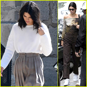 Kendall Jenner Has Dreamy Photoshoot at France's Chantilly Castle