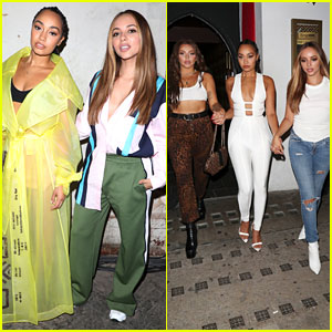 Little Mix Have Girls Night Out During London Fashion Week